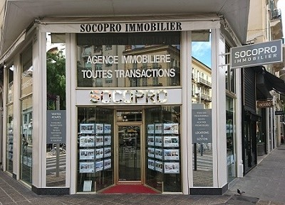 Agence immobiliere à Nice centre : SOCOPRO